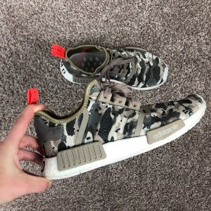 Adidas NMD R1 Camo Shoes